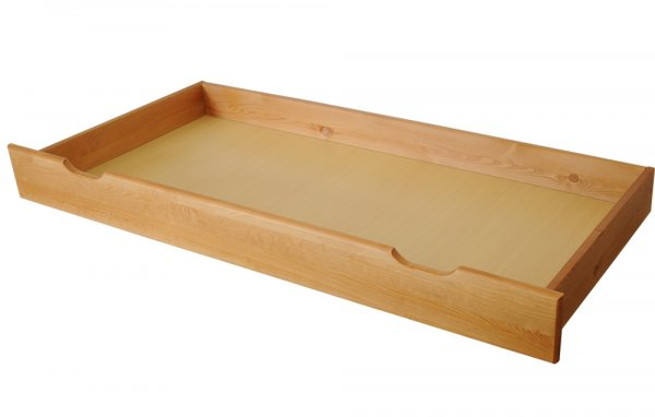 Šuplík pod postel 200 cm olše