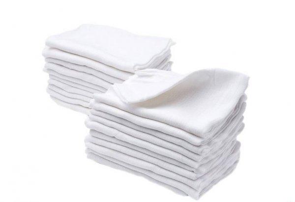 Plena bílá - bavlna gramáž 115g - 10 ks