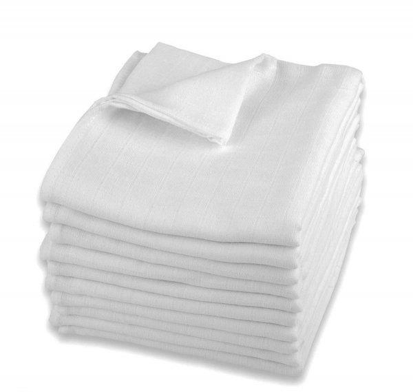 Plena bílá lux - bavlna gramáž - 140g - 10 ks