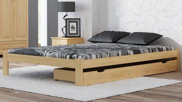Šuplík pod postel 200 cm borovice