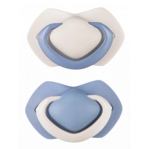 A - Canpol babies set symetrických silikonových dudlíků 0-6m PUR