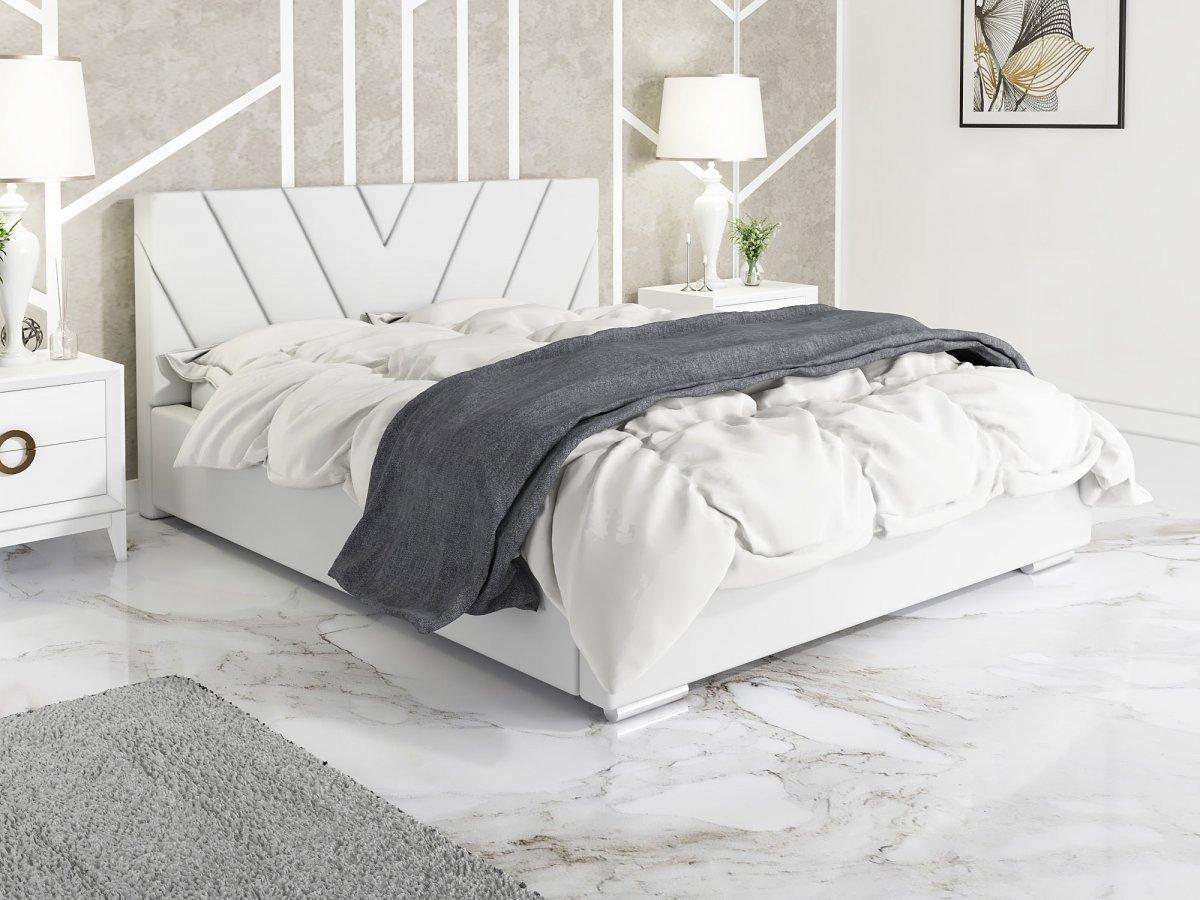 Čalouněná postel Vicenza 160/200 cm s úložným prostorem madrid -