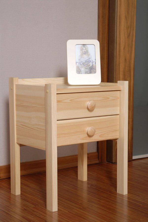 Noční stolek z masivu KÁJA - borovice