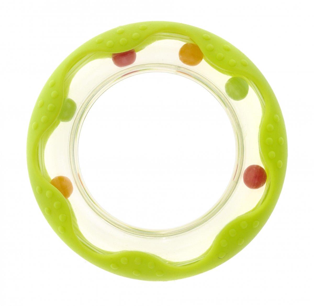 Chrastítko - kousátko kolečko - zelená