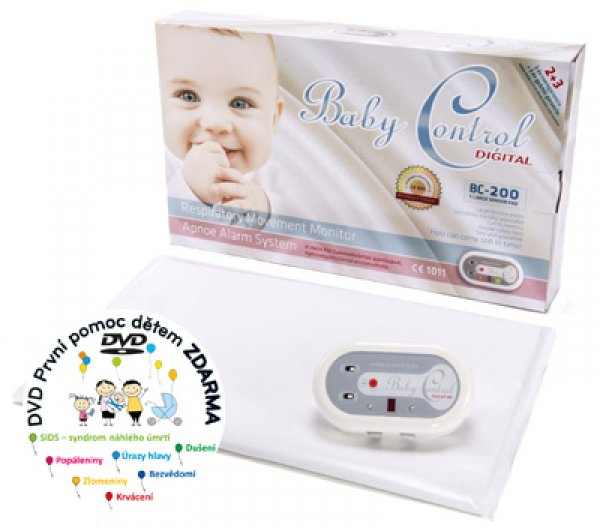 Monitor Baby control digital 200 + 1 senzorové podložka