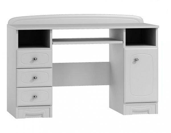 Psací stůl Bianko - bílá ST7