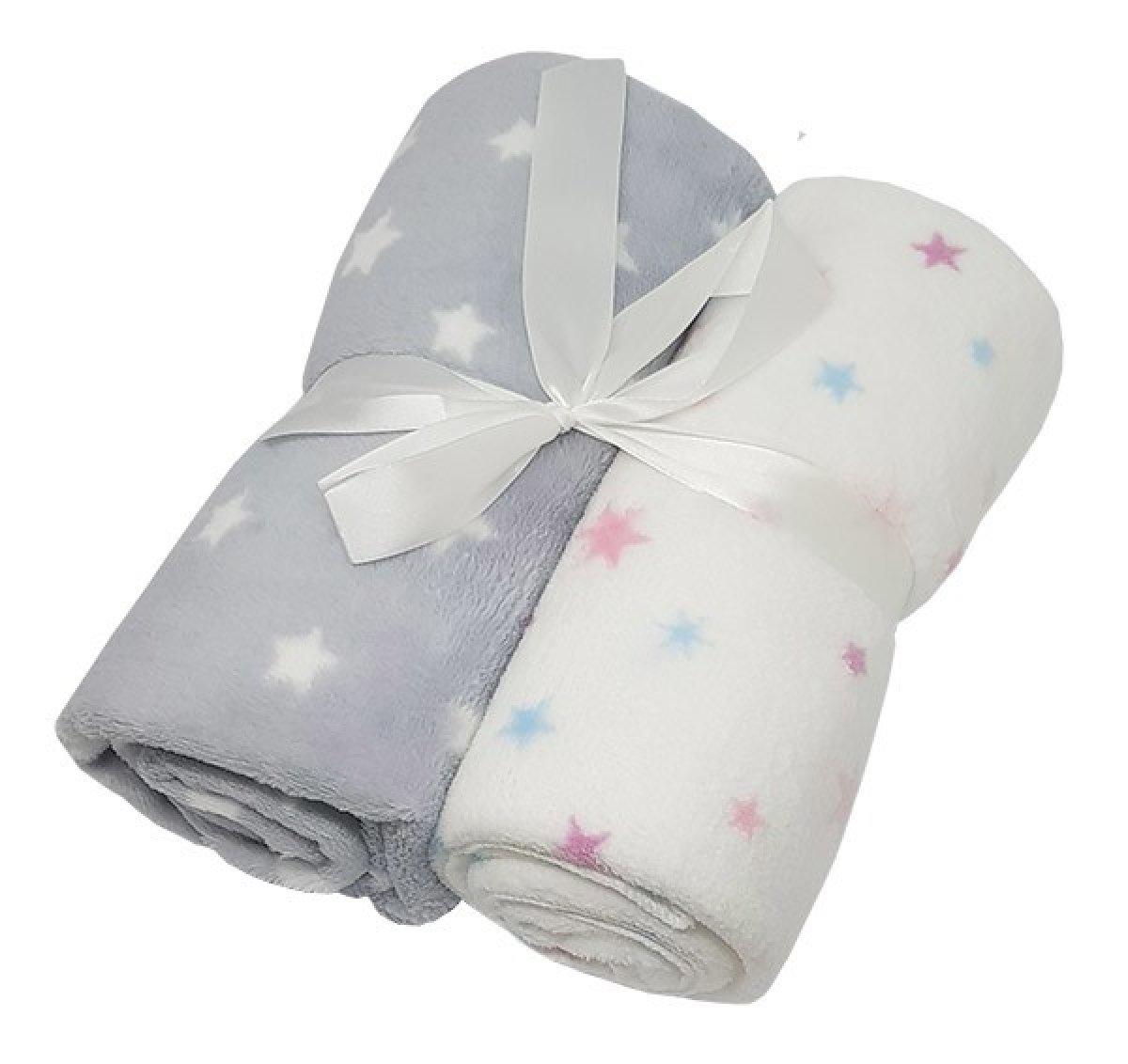 Dětská deka 2 kusy - hvězdičky