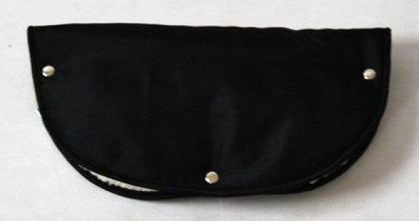 Rukávník na madla kočárků černý 1