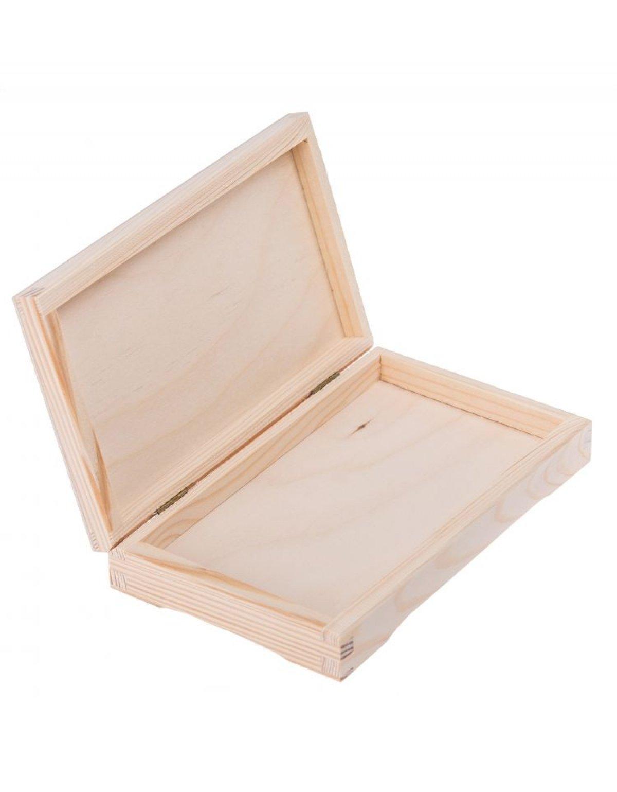 Krabička dřevěná CHOCO 11,5x20x3,5 cm