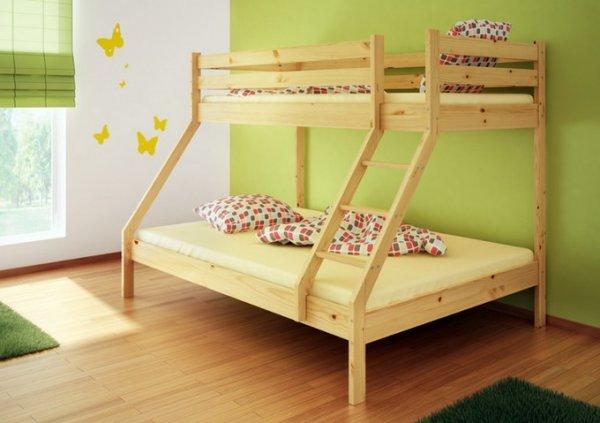 Patrová postel Denis + rošty + matrace