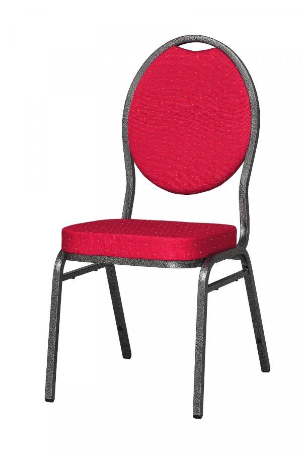 Cateringová/banketová židle Henry červená