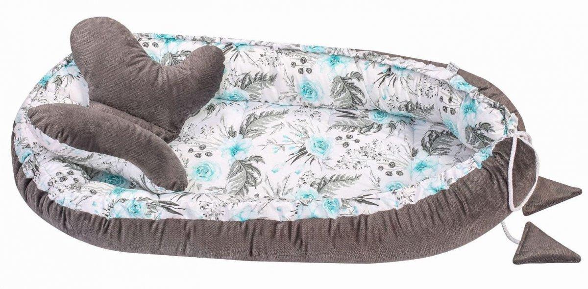 Hnízdo pro miminko Velvet vzor 10