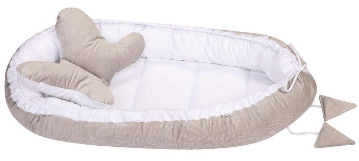 Hnízdo pro miminko Velvet vzor 2