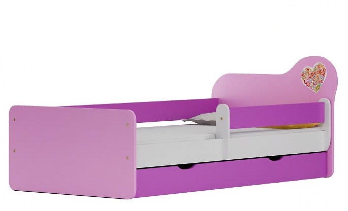Postel Joy N20S 200/90 cm + matrace + šuplík