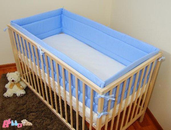 Ochranný mantinel 360 cm modrý