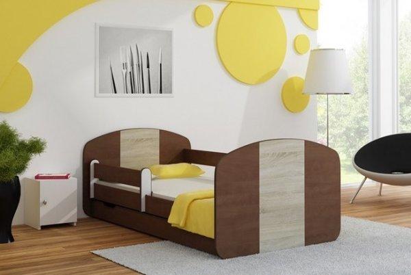Postel Milano 160x80 cm se šuplíkem, roštem a matrací - sonkal