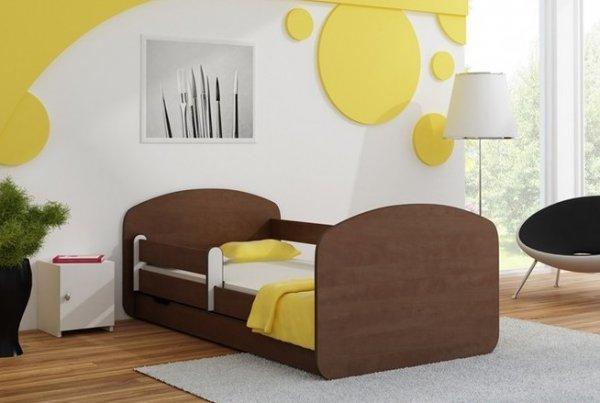 Postel Milano 90x200 cm se šuplíkem, roštem a matrací - kal