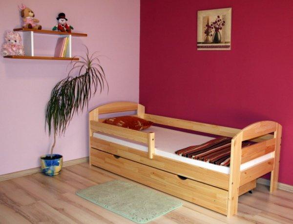 Dětská postel Kamila 180x80 cm +matrace +zásuvka
