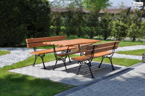 dřevěný zahradní nábytek Kowal 1+2