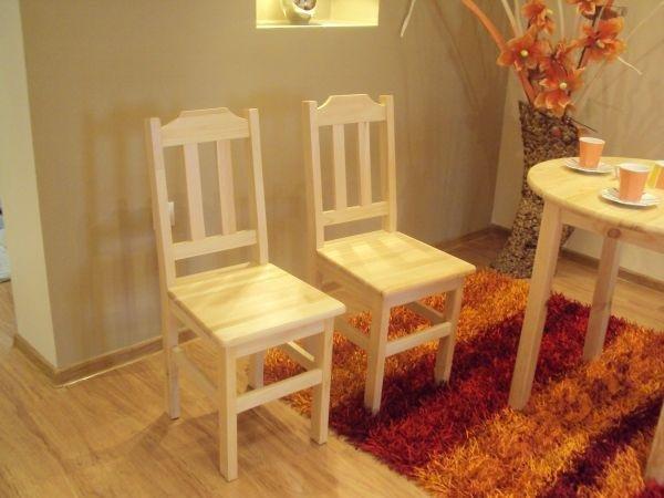 Židle z masivu Janek