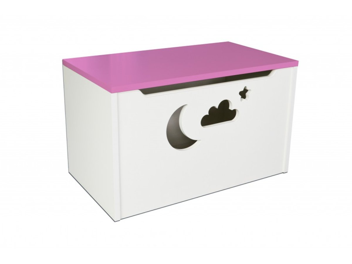 Box na hračky - mrak růžová