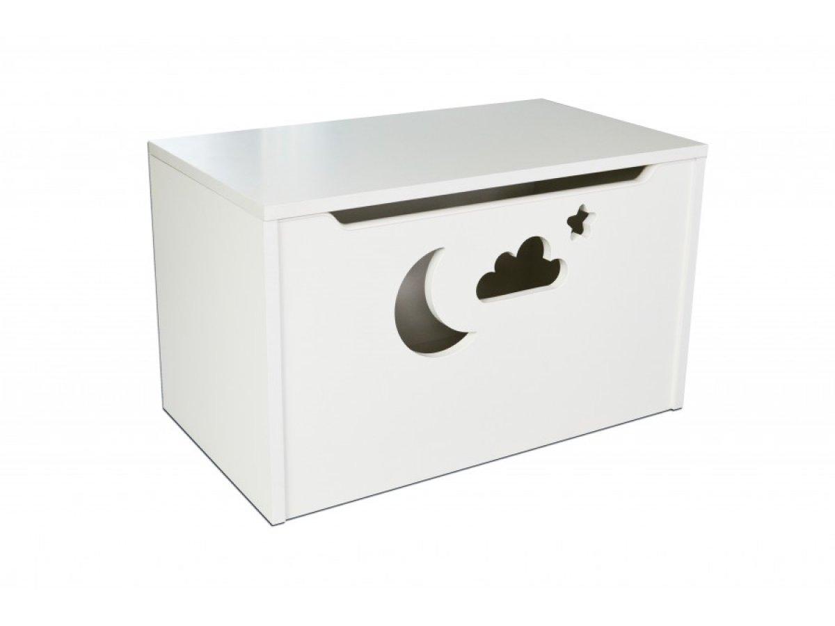 Box na hračky - mrak bílá