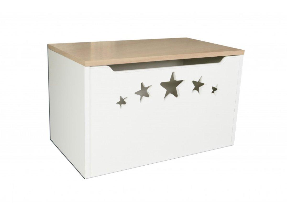Box na hračky - hvězdy hruška
