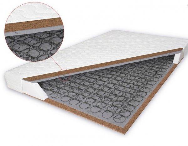 Bonelová matrace s kokosem Salerno 140x200 cm