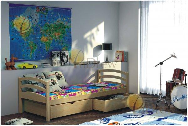 Postel Elena 200x90 cm + matrace + šuplíky