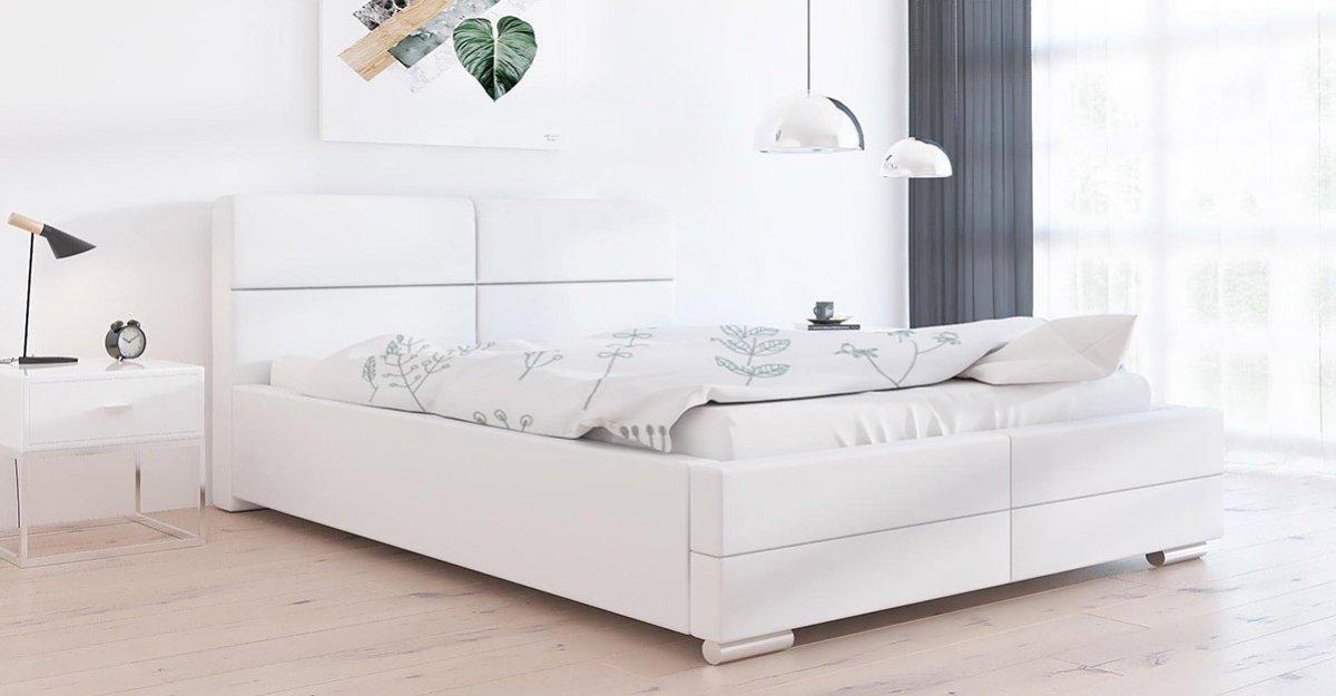 Čalouněná postel Bari 120/200 cm s úložným prostorem madrid - ek