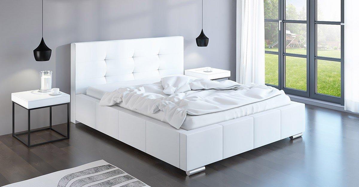 Čalouněná postel Trento 180/200 cm s úložným prostorem madrid -