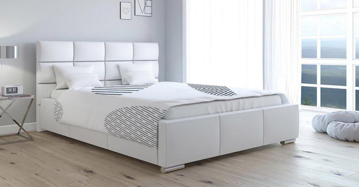 Čalouněná postel Rimini 90/200 cm s úložným prostorem madrid - e