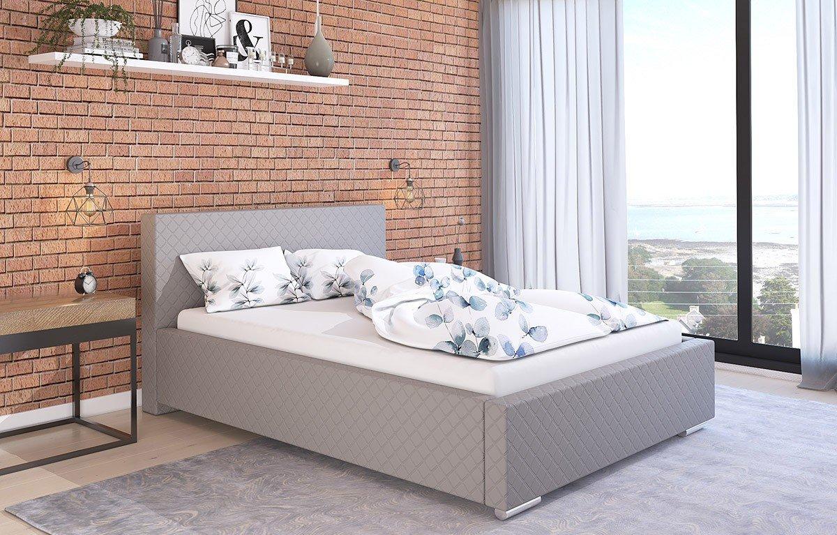 Čalouněná postel Bolzano 120/200 cm s úložným prostorem madrid -
