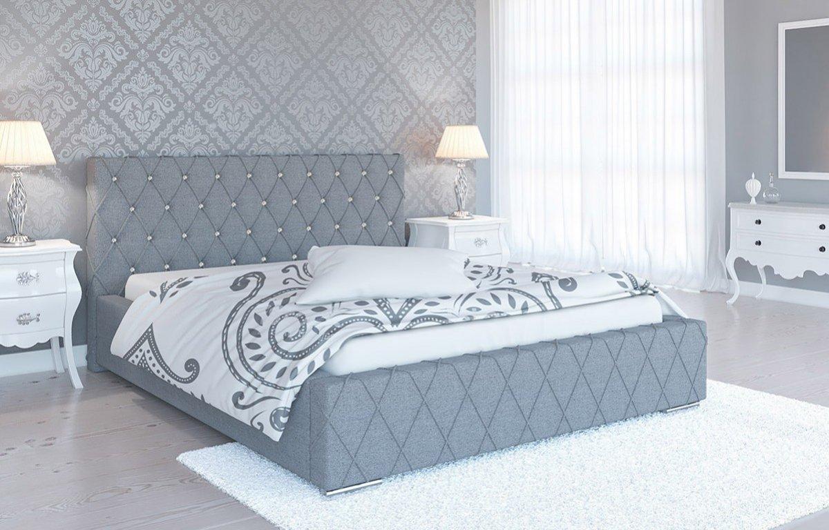 Čalouněná postel Parma 140/200 cm s úložným prostorem malmo