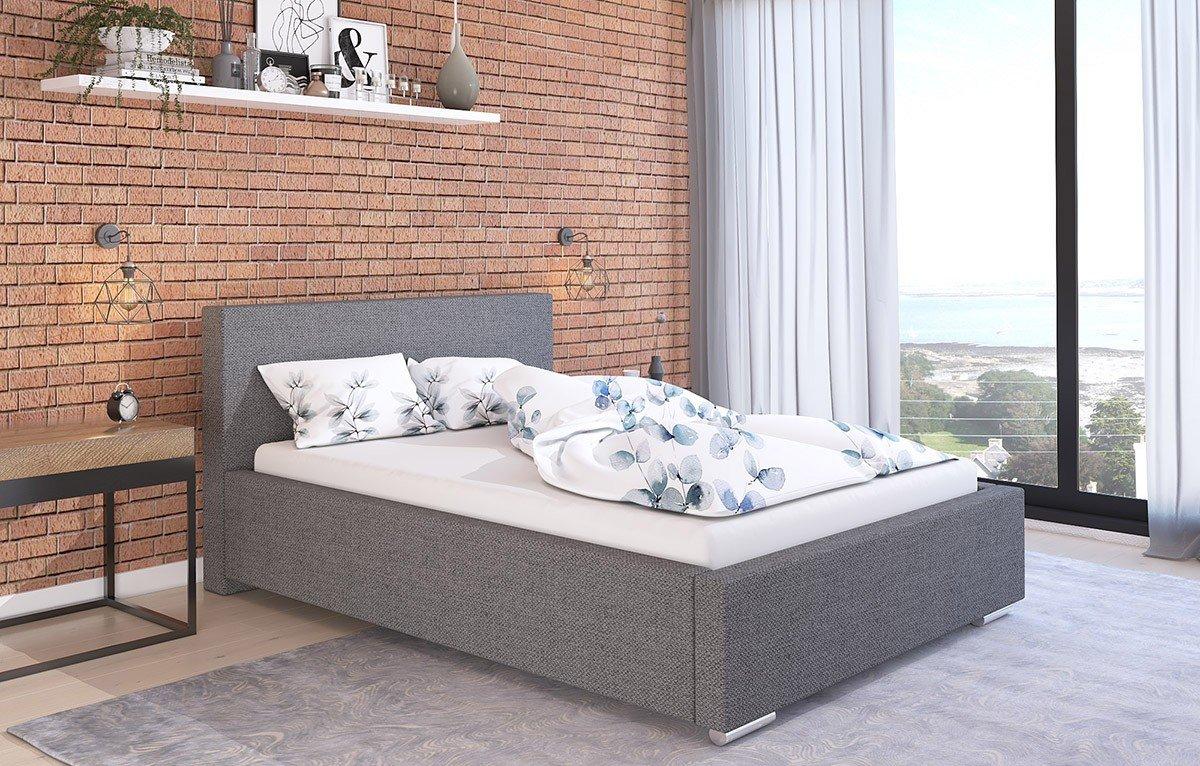 Čalouněná postel Bolzano 120/200 cm s úložným prostorem malmo