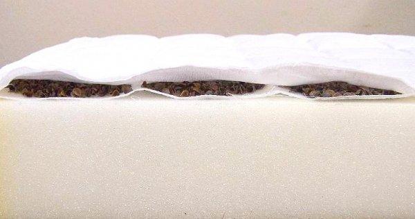 Matrace pohanka - molitan - kokos 140x70 cm