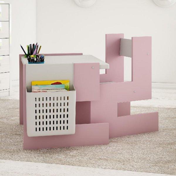 Stůl a židle model S - růžová