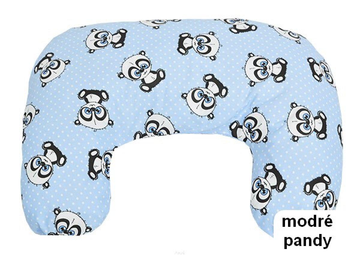 Krmící polštář modré pandy