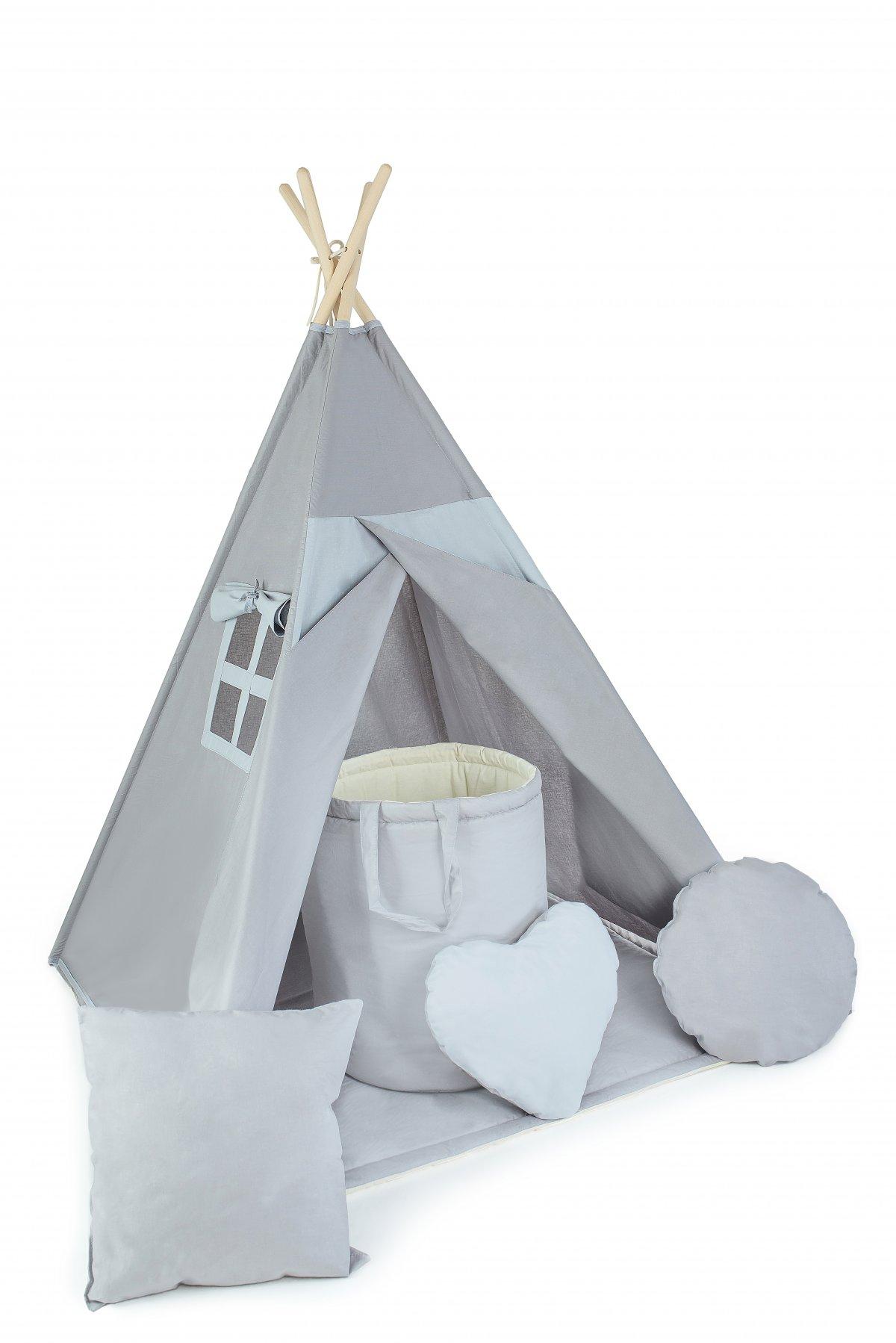 Stan teepee s oknem + 6 dárků zdarma