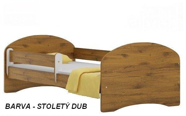 Postel Nela N20 160/80 cm + matrace stoletý dub
