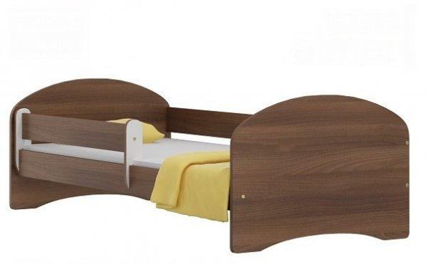 Postel Nela N20 140/70 cm + matrace temný ořech