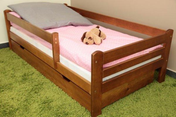 Dětská postel 160x80 cm Vráťa dub+ šuplík + matrace