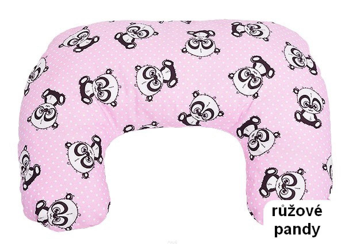 Krmící polštář růžové pandy