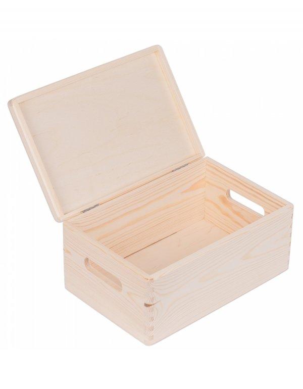 Skříňka dřevěná s víkem 30/20 cm