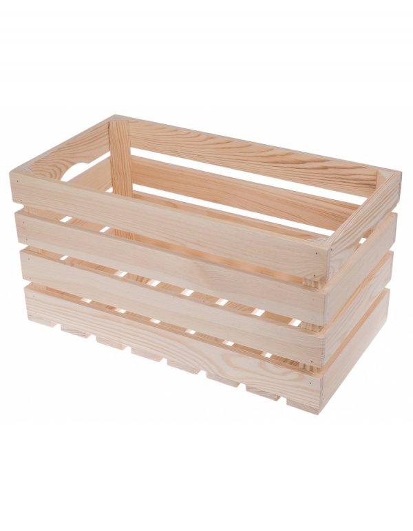 Box dřevěný 50/27/25,5 cm