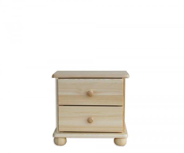 Noční stolek z masivu SN 01 - borovice