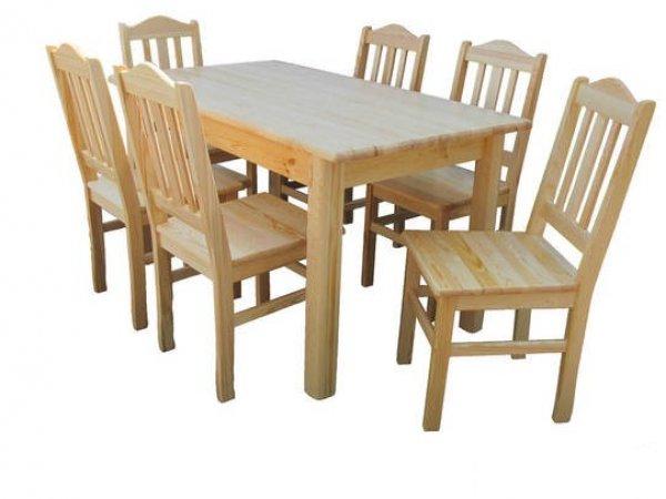Židle z masivu Staník - 4 barvy
