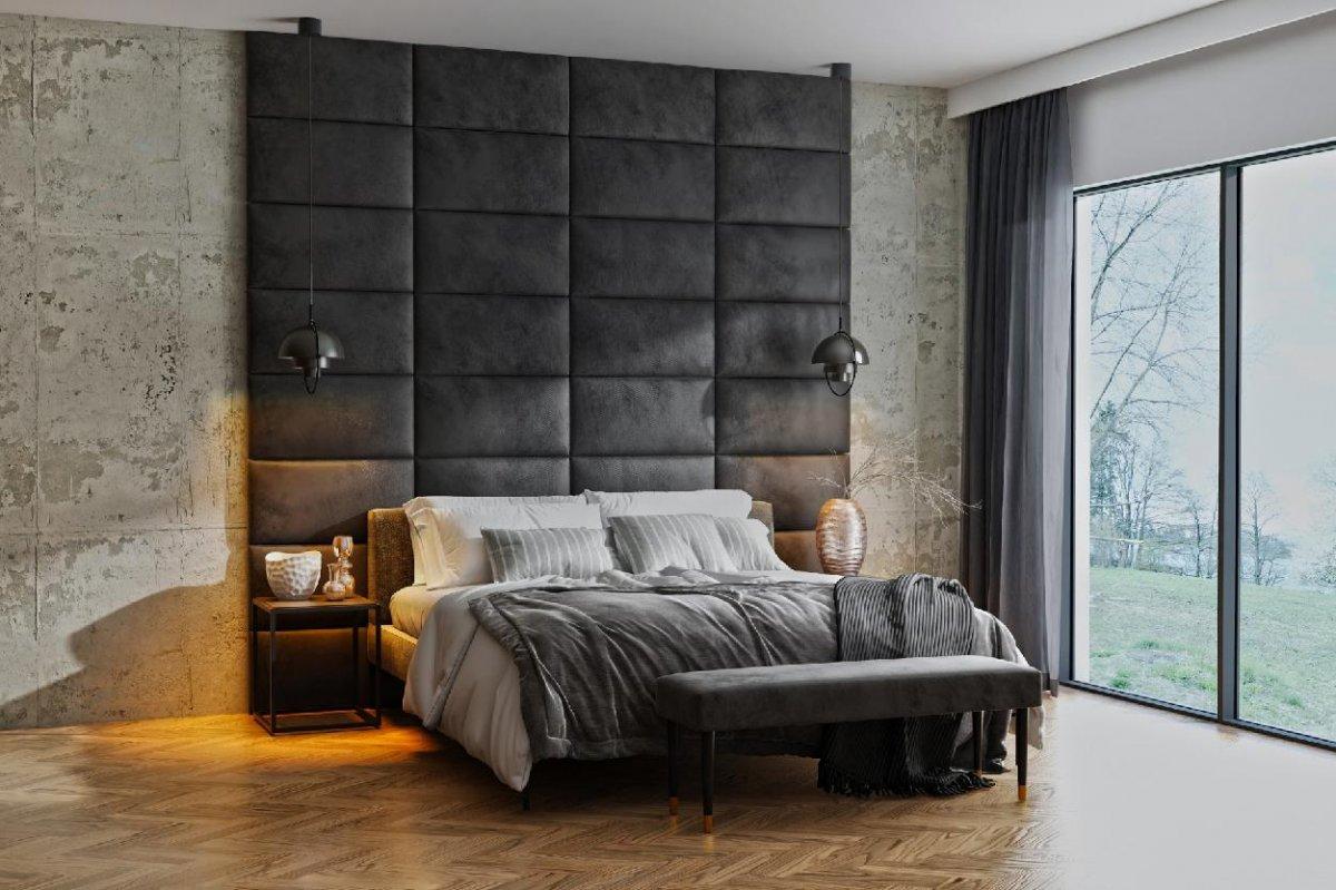Čalouněný nástěnný panel 60/30/5 cm