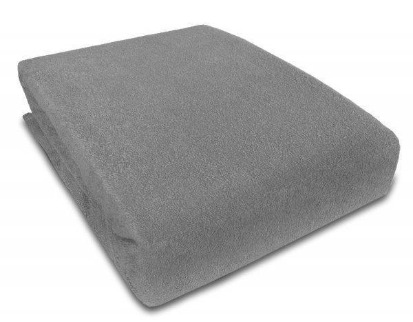 Frote prostěradlo s gumkou 90/200 cm  šedá
