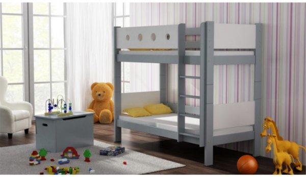 Patrová postel Vašek 180/80 cm šedá